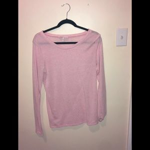 A pink long sleeves shirt💕